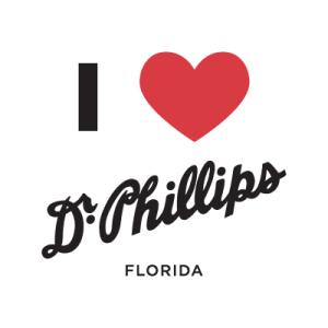 I love Dr. Phillips logo