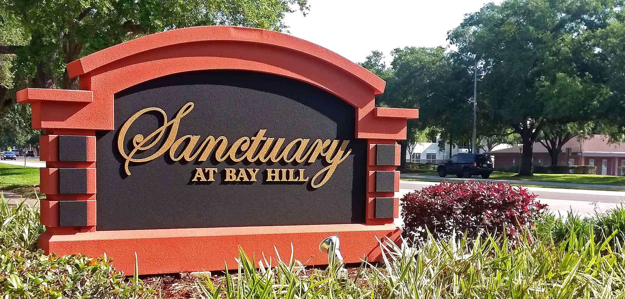 Sanctuary at Bay Hill sign