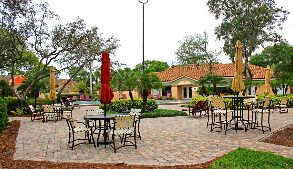 The Sanctuary at Bay Hill Clubhouse entry