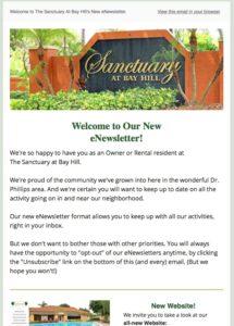 July eNewsletter